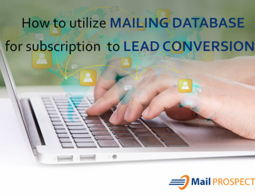utilize mailing database for subscription to lead conversion thumbnail