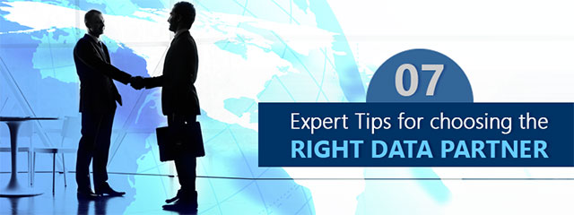 tips to choose right data partner