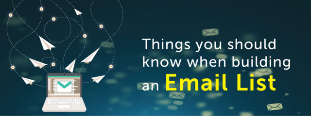 Things you should know when buying,an email list