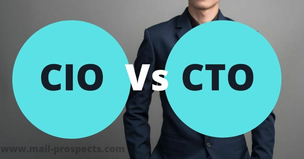 Difference between CIO and CTO